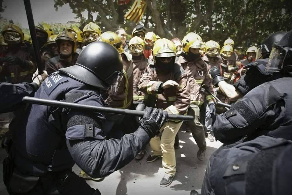 Catalunya Raixe Venete violenza